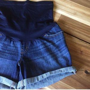 Maternity jean shorts liz Lange XS extra small